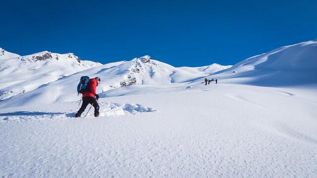 Initiation au ski de rando en Maurienne